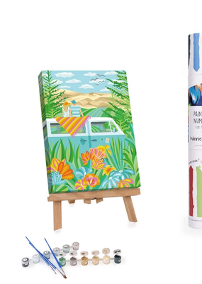 Winnie's Picks Paint By Number Campervan Traveling Around the World