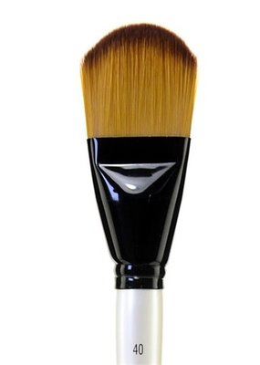 Daler-Rowney Simply Simmons XL Soft Synthetic Brush Filbert 40