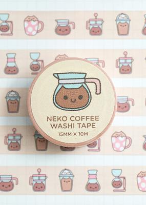 Robot Dance Battle Washi Neko Coffee