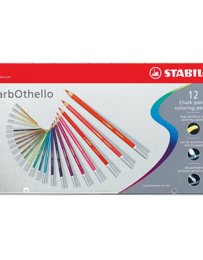 Stabilo CarbOthello Pastel Pencil 12 Color Set