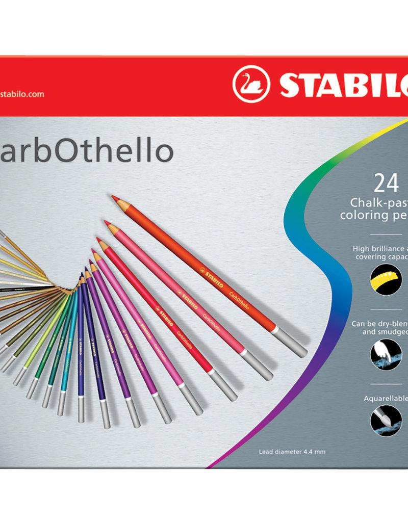 Stabilo CarbOthello Pastel Pencil 24 Color Set