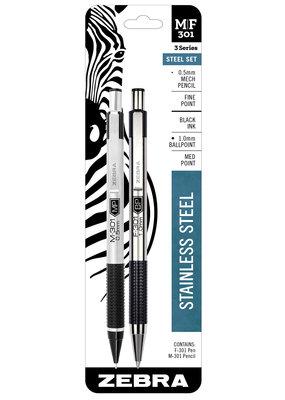 Zebra Zebra Ball Point Pen & Mechanical Pencil Set