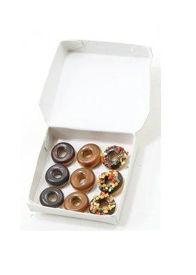 Handley House Miniature Doughnuts in White Box