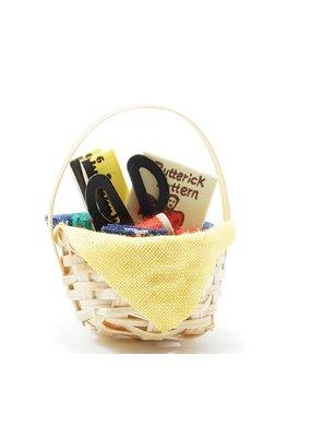 Handley House Miniature Sewing Basket