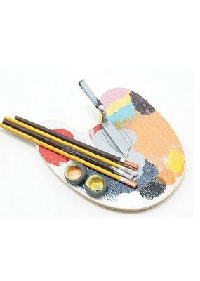 Handley House Miniature Artist Palette