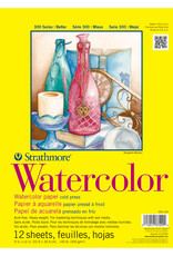 Strathmore Strathmore 300 Series Watercolor Paper Pad 9 x 12 wire bound 12sh