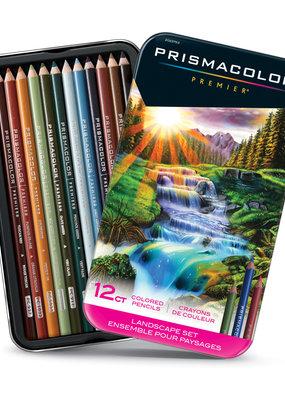 Prismacolor Prismacolor Premier 12 Colored  Pencil Set Landscape