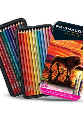 Prismacolor Prismacolor Premier 24 Colored Pencil Set  Highlight and Shadow