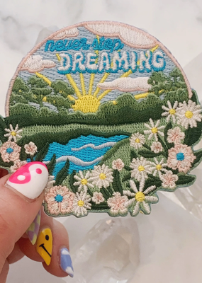 Wildflower + Co. Patch Never Stop Dreaming