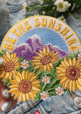Wildflower + Co. Patch Be the Sunshine