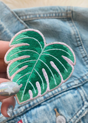 Wildflower + Co. Patch Monstera Leaf