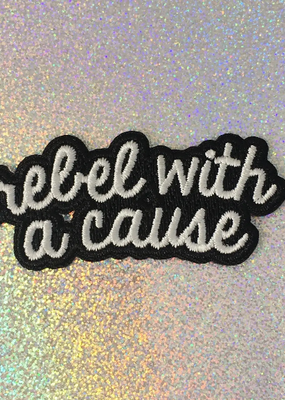 Wildflower + Co. Patch Rebel With A Cause