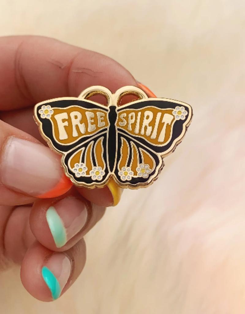 Wildflower + Co. Enamel Pin Free Spirit Butterfly