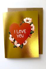 Wild Optimist Card I love You