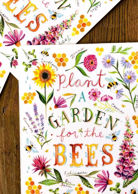 Katie Daisy Sticker For The Bees