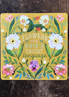 Katie Daisy Sticker Love's Truest Language