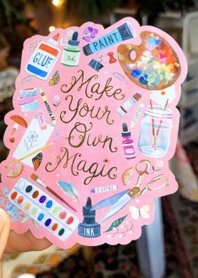 Katie Daisy Sticker Make Your Own Magic