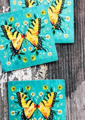 Katie Daisy Sticker Swallowtail Butterfly