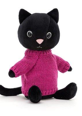 Jellycat Knitten Kitten Fuchsia