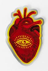 Wild Optimist Sticker Third Eye Heart
