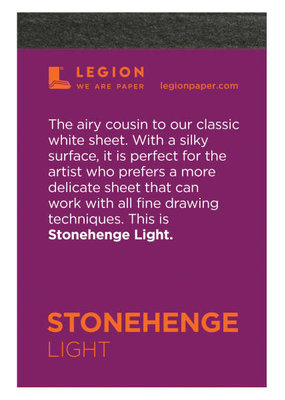 Legion Paper Mini Paper Pad Stonehenge Light