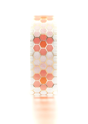 Tiny Deer Studio Washi Flower Tile  Pink