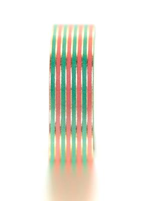 Tiny Deer Studio Washi Stripes  Teal Pink