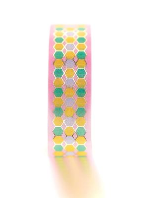 Tiny Deer Studio Washi Tile Pink