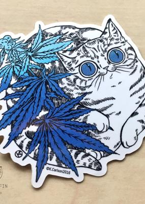 Paper Puffin Sticker Oh  Hi