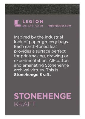 Legion Paper Mini Paper Pad Stonehenge Kraft