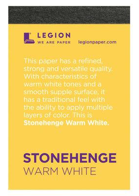 Legion Paper Mini Paper Pad Stonehenge Warm White