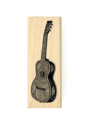 Leavenworth Jackson Stamp Guitar