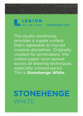 Legion Paper Mini Paper Pad Stonehenge White