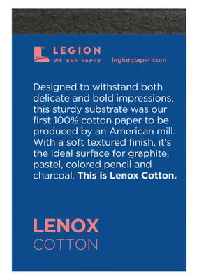 Legion Paper Mini Paper Pad Lenox Cotton