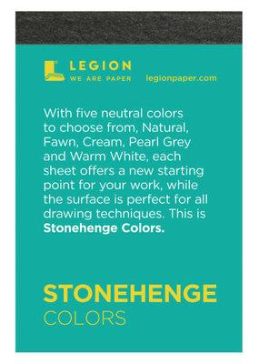 Legion Paper Mini Paper Pad Stonehenge Colors