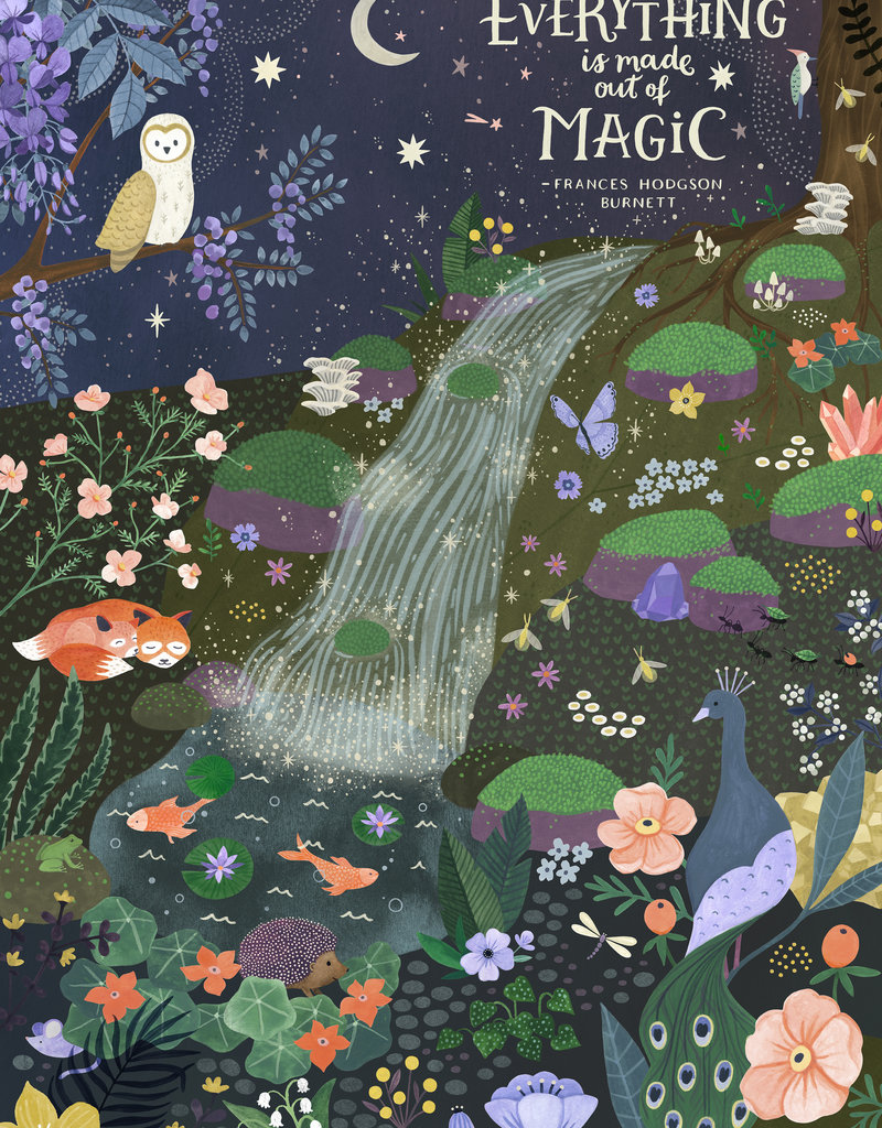 Flow 1000 Piece Puzzle Everything is Made Out of Magic