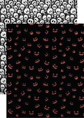 Reminisce 12 x 12 Decorative Paper Scream O'lantern