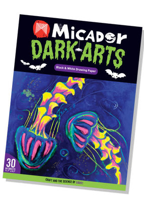 Micador Dark Arts Drawing Pad