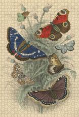 John Derian Paper Goods 750 Piece Puzzle John Derian Dancing Butterflies