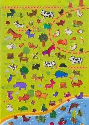 Sticker Multi Animals