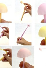Glow in the Dark Mushroom Gel Pen