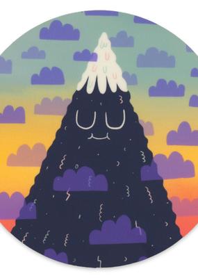 Cactus Club Sticker Meditating Mountain