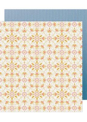 American Crafts 12 x 12 Decorative Paper Bungalow Lane #17