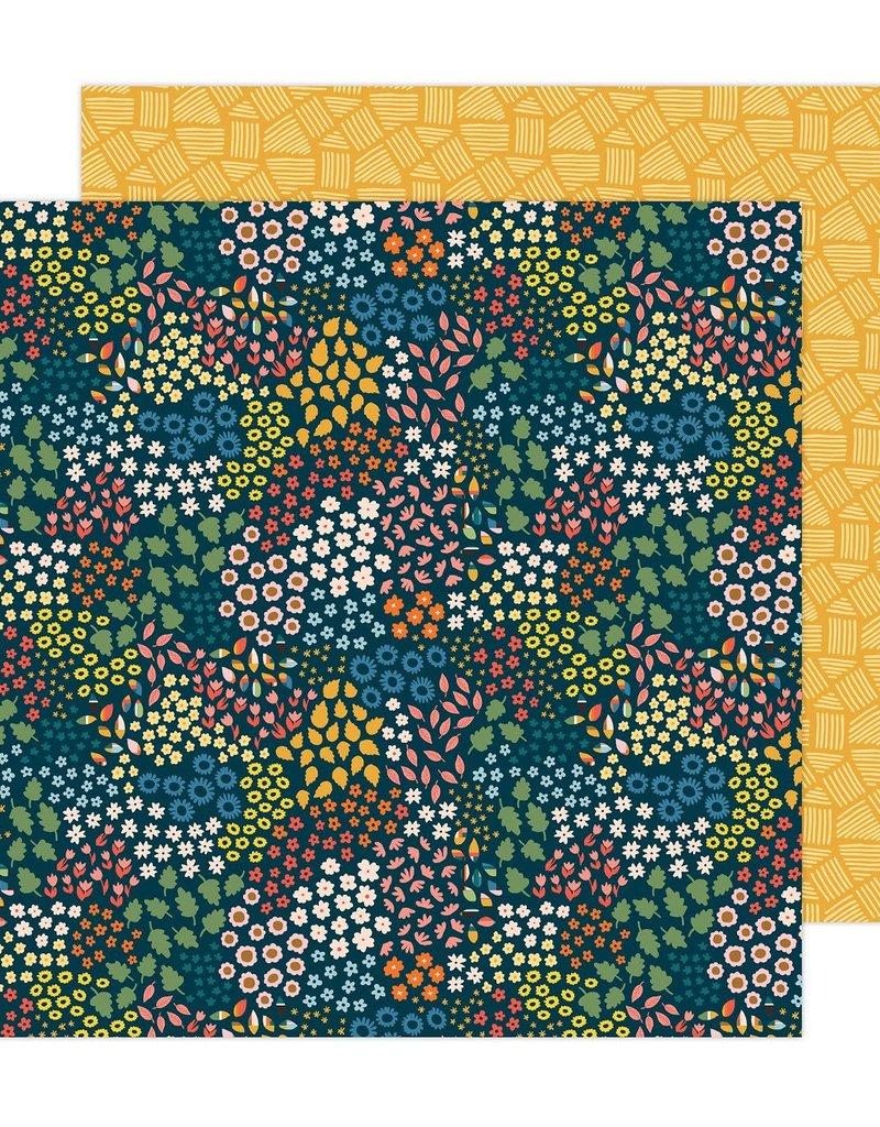 American Crafts 12 x 12 Decorative Paper Bungalow Lane #11