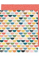 American Crafts 12 x 12 Decorative Paper Bungalow Lane #15