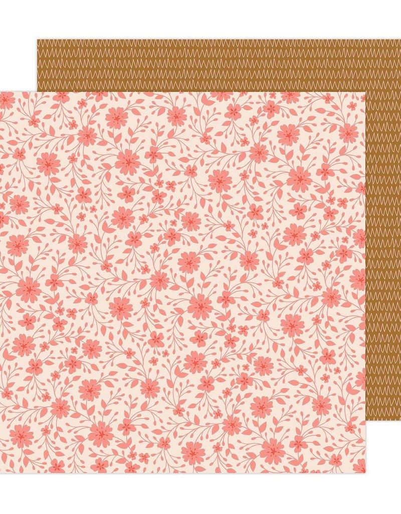 American Crafts 12 x 12 Decorative Paper Bungalow Lane #14