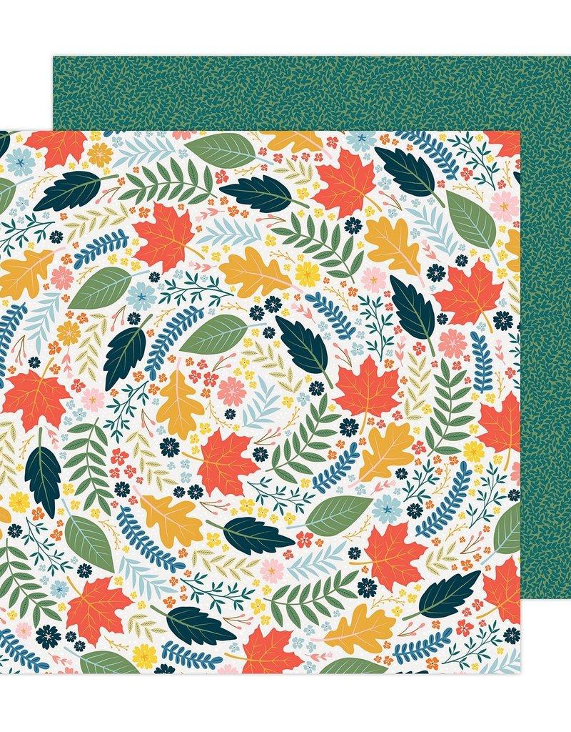 American Crafts 12 x 12 Decorative Paper Bungalow Lane #5