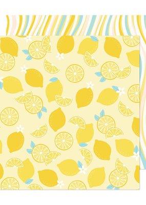 American Crafts 12 x 12 Decorative Paper Lemon Tree