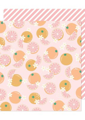 American Crafts 12 x 12 Decorative Paper Sweet & Sour