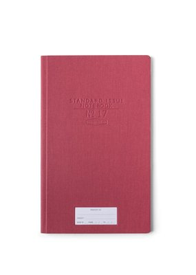 Designworks Ink Standard Issue Tall Notebook Burgundy